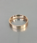 14 Karat Rose Gold Band (4mm)