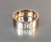 14 Karat Rose Gold Diamond Band (0.45ct)