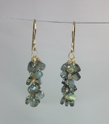 Labradorite Multi Drop Earrings