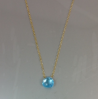 Swiss Topaz Necklace