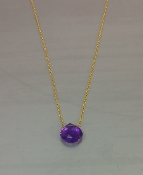 Amethyst Necklace (7mm)