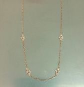 14 Karat Rose Gold Diamond Choker (0.20ct)