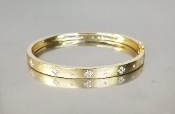 14 Karat Yellow Gold Diamond Bangle (0.40ct)
