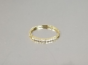 14K Yellow Gold Diamond Ring (0.19ct)