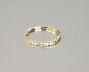 14K Yellow Gold Diamond Ring (.15ct)