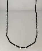 The Michael Black Spinel Necklace (14 Karat Yellow Gold)