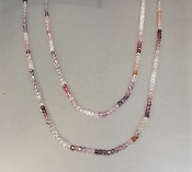 Color Spinel Long necklace (2mm)