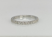 14 Karat White Gold Diamond Eternity Band (.50ct/G/VS)