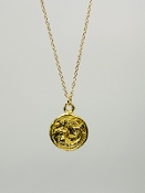 14 Karat Yellow Gold Mermaid