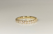 14K Yellow Gold Diamond Eternity Band 0.90ct