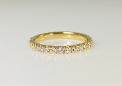 14K Yellow Gold Diamond Eternity Band 0.66ct