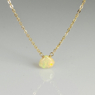 Ethiopian Opal Necklace 6mm