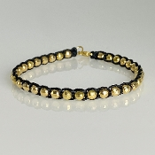 14K Yellow Gold Wish Bracelet