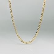 Curb Chain Gold Filled Necklace