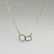 Dual Tone Unity Necklace