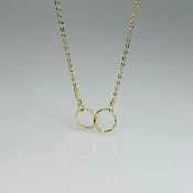Gold Filled Unity Necklace