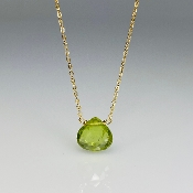 Peridot Necklace (8mm)