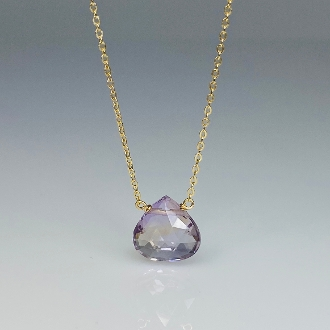 Ametrine Necklace (10x10mm)