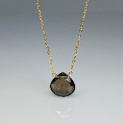Smoky Quartz Necklace (10mm)