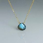 Labradorite Necklace (10mm)