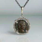 Ancient Coin Pendant (Constantine The Great 306-337A.D.)