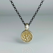 Ancient Coin Pendant (Multan India 702-800A.D.)